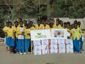 School children Plantas